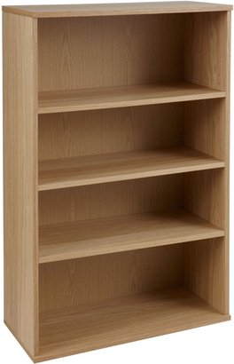 John Lewis & Partners Abacus 3 Shelf Bookcase, FSC-Certified
