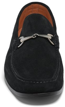 Brooks Brothers Suede Buckle Loafers