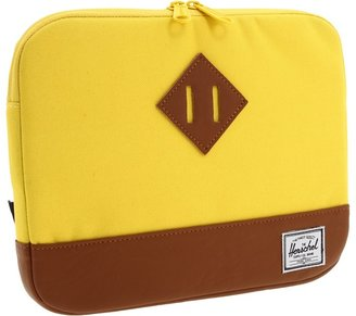 Herschel Heritage Netbook Sleeve 11 (Canary) - Bags and Luggage