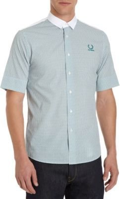 Fred Perry Mini Flower Shirt