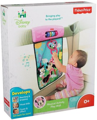 Fisher-Price Disney baby minnie mouse musical activity play wall