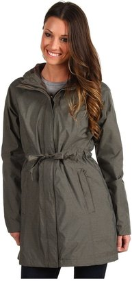 The North Face Sophia Rain Jacket (Weimaraner Brown) - Apparel