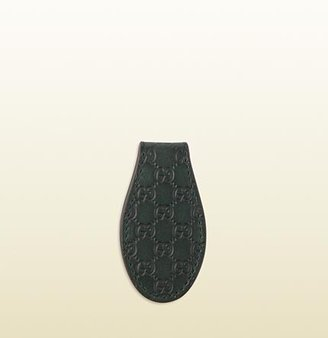 Gucci Microguccissima Leather Money Clip