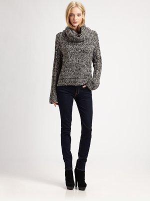 Alice + Olivia Shira Wool Turtleneck Sweater