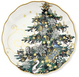 Williams-Sonoma Christmas Tree Salad Plates, Set of 4