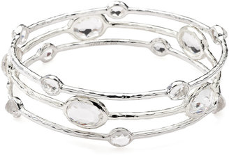 Ippolita Sterling Silver Wonderland Bangle Set in Indigo