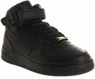 Nike Force 1 Mid Black