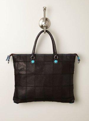 Gabs Medium Leather Patchwork Bag