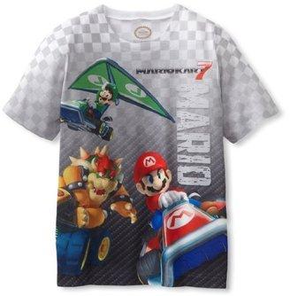 Nintendo Boys 8-20 Mariokart Short Sleeve Tee