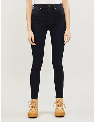 Paige Denim Women's Mona Hoxton Skinny High-Rise Jeans, Size: 23