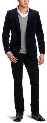 Ben Sherman Men's Plectrum Velvet Blazer
