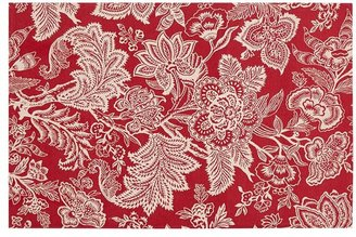Pottery Barn Layla Palore Indoor/Outdoor Rug - Red