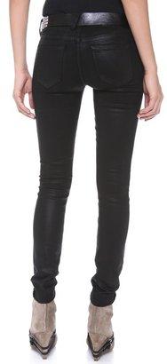 TEXTILE Elizabeth and James Debbie Coated Skinny Jeans