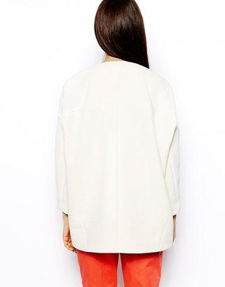 Whistles Esther Longline Sculptured Jacket