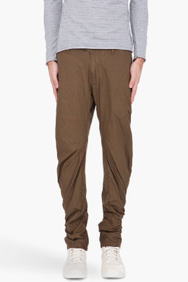 G Star G-STAR Olive Omega Arc 3D Trousers