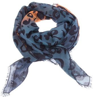 McQ by Alexander McQueen printed scarf