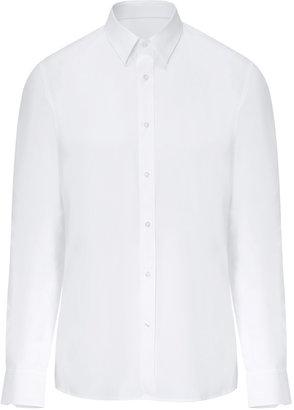 HUGO Stretch Cotton Elisha Shirt in Open White