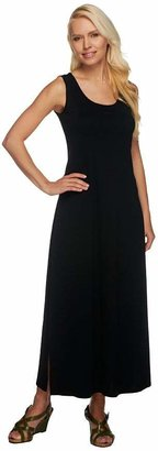 Liz Claiborne New York Essentials Scoop Neck Knit Maxi Dress