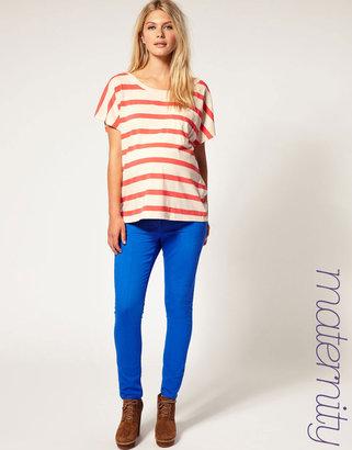 Asos Skinny Jeans in Bright Blue