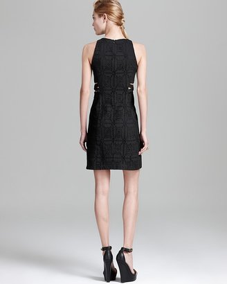 Nanette Lepore Dress - Mediterranean Lace with Side Cut Outs