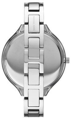 Michael Kors Mid-Size Silver Color Runway Three-Hand Glitz Watch