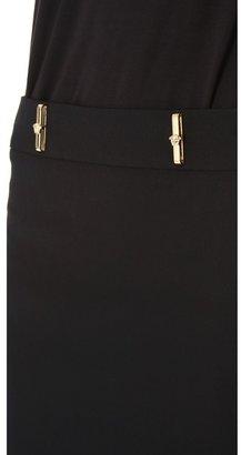 Versace Belt Loop Miniskirt