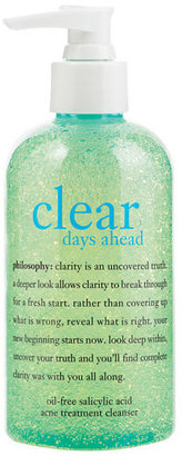 Philosophy 'Clear Days Ahead' Acne Treatment Cleanser $22 thestylecure.com