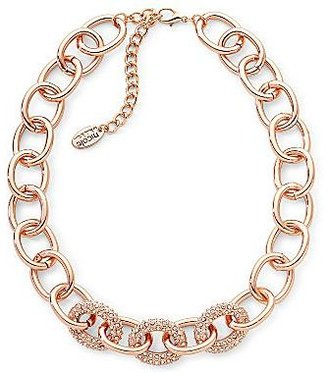Nicole Miller nicole by Pavé Crystal Link Necklace