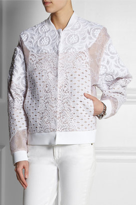 No.21 No. 21 Genie lace, broderie anglaise and embroidered jacket