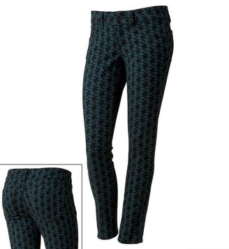 Candie's houndstooth skinny jeans