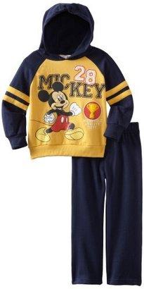 Disney Boys 2-7 Two Piece Mickey Fleece Hoodie Set