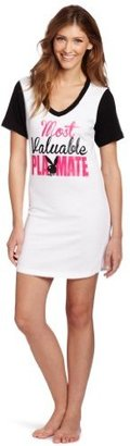 Playboy Women's Most Valuable Playmate Dorm Shirt