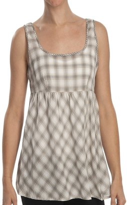 Stetson Yarn-Dyed Ombre Plaid Babydoll Shirt (For Women)