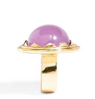 BaubleBar Purple Dome Ring