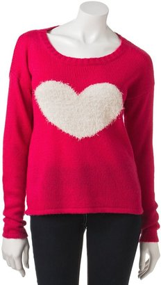 Takeout heart sweater - juniors