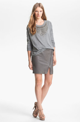 Haute Hippie Embellished Pullover