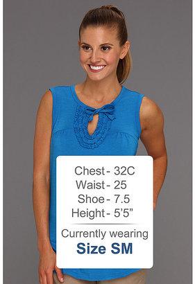 Exofficio Go-To® Ruffle Sleeveless Shirt