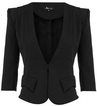 Dorothy Perkins Atelier 61 Black 3/4 sleeve blazer