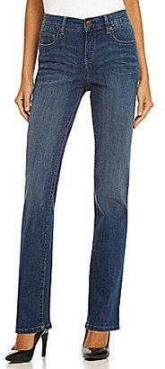 Code Bleu Gwen Slimming Straight-Leg Jeans