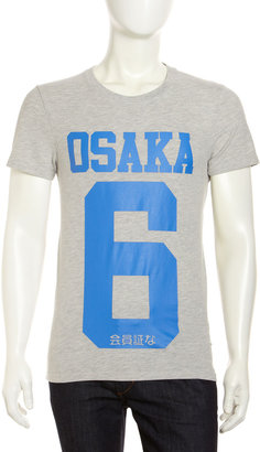 Superdry Mark Osaka Tee, New Royal