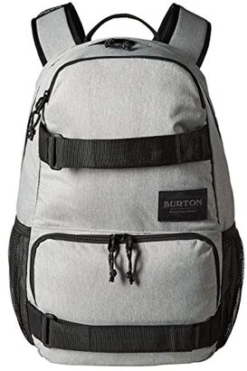 Burton Treble Yell Pack (Gray Heather) Backpack Bags