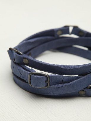 Free People Distressed Double Wrap Belt
