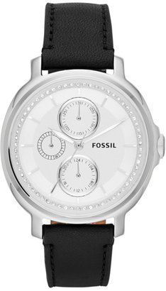 Fossil Chelsey Multifunction Leather Watch - Black http://www.fossil.com/product/ES3359 $95.00