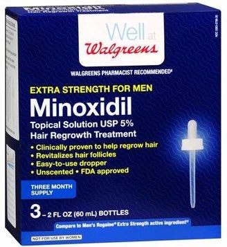 Walgreens Minoxidil Hair Regrowth Treatment For Men Extra Strength