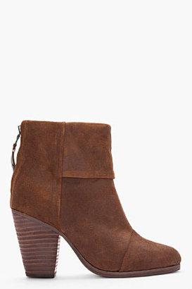 Rag and Bone RAG & BONE brown Classic Newbury ankle boots