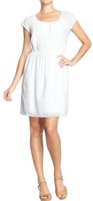 Old Navy Women's Pintucked-Lace Eyelet Dresses