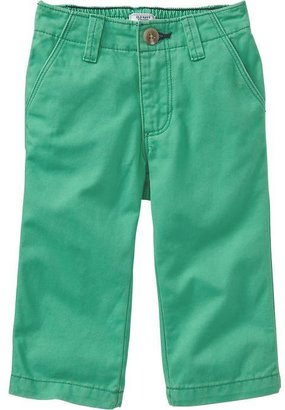 Old Navy Pop-Color Twill Pants for Baby