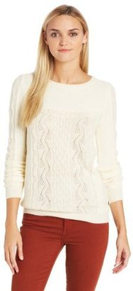 Maison Scotch Women's Cable Sweater