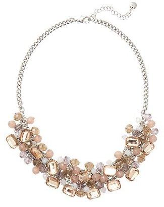 LOFT Short Lavender Bauble Necklace