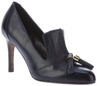 Lola Cruz Tassel court shoe pump